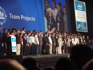2 рисунок Награждение победителей на Intel-ISEF-2009